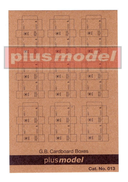 G.B.Cardboard Boxes