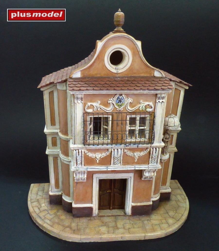 Měšťanský dům - průčelí