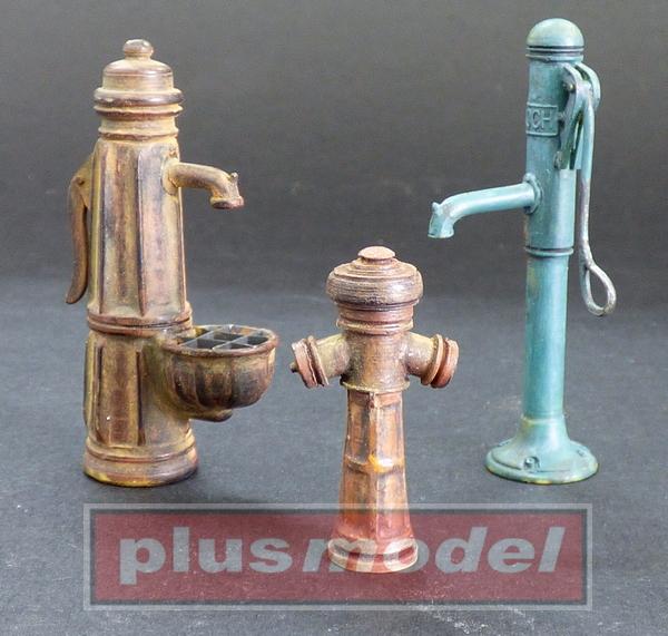 Vodní pumpy