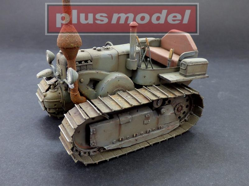 Lanz Bulldog 35 HP, pásový traktor