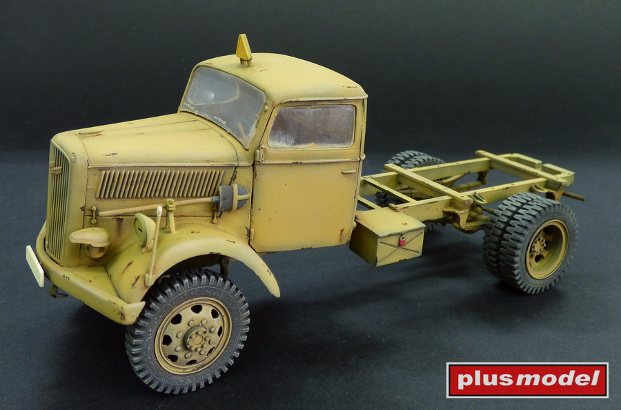 Opel 4 x 4 - podvozek