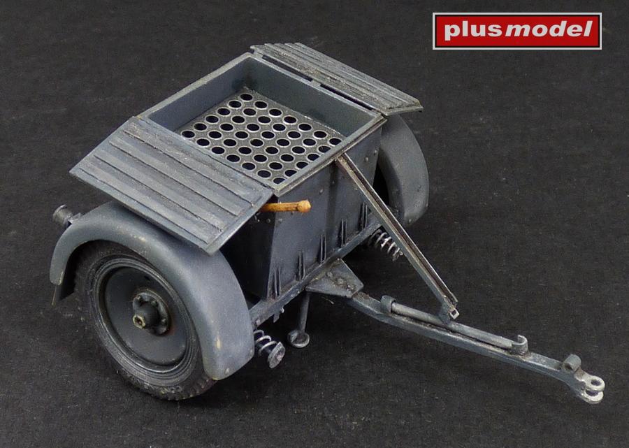 Muniční vozík Sd.Anh.32 pro Sd.Kfz 252