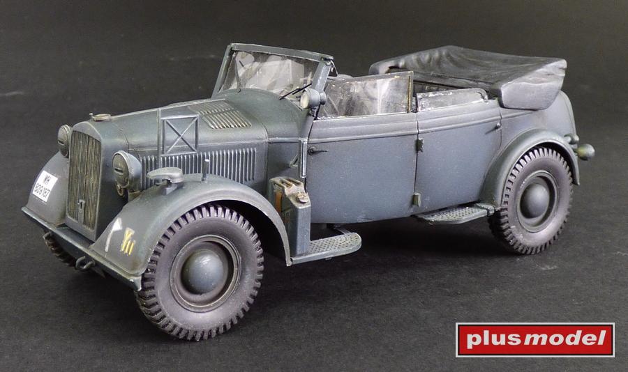 Kabrio Kfz.21 - konverzní sada pro Horch Kfz.15