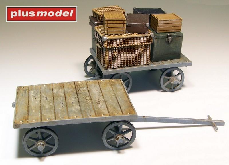 Nádražní vozík na zavazadla