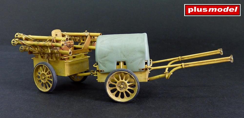 Německý muniční vozík If.8