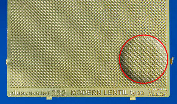 Plech s reliefem - Modern lentil