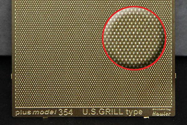 Plech s reliefem - U.S. grill
