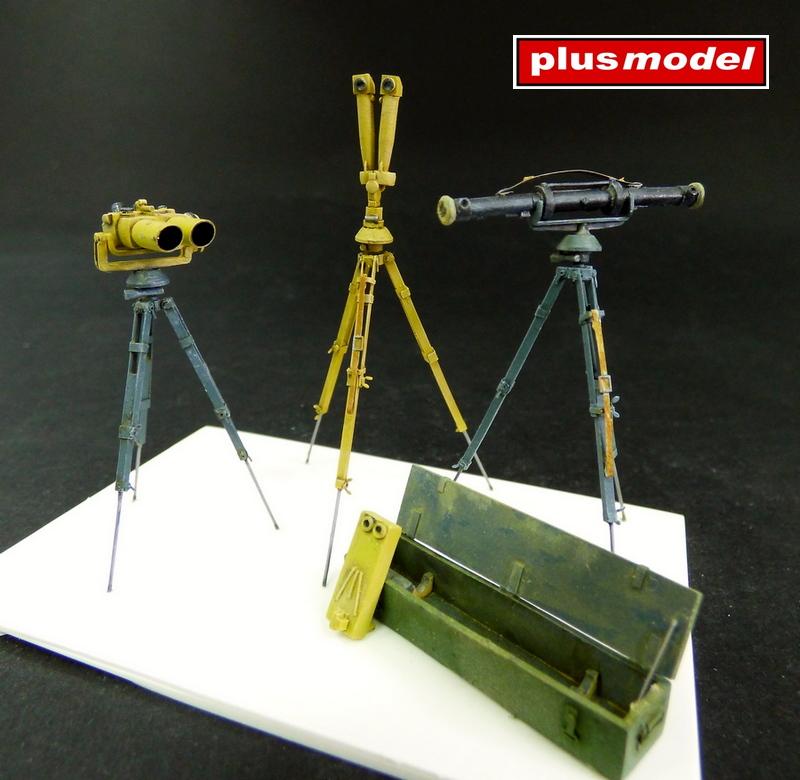 Německé dalekohledy a dálkoměr
