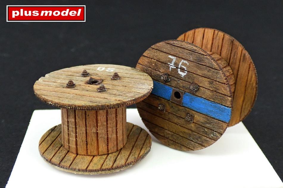 Malé kabelové cívky