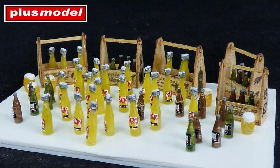 Dřevěné bedny na pivo a limonádu