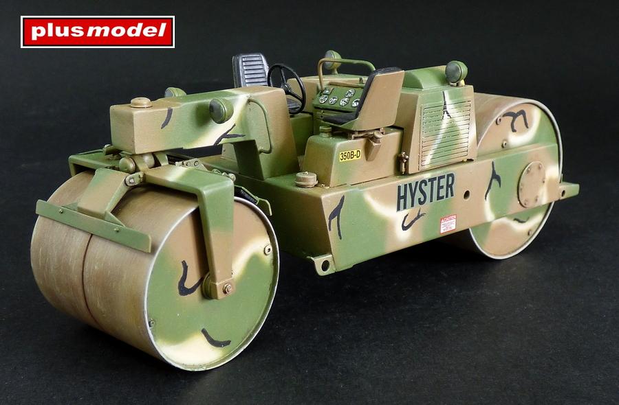Silniční válec Detroit Diesel 3-53