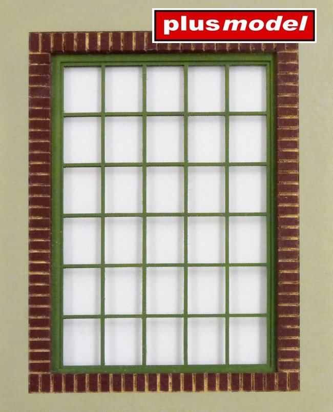 Dílenské okno-hranaté