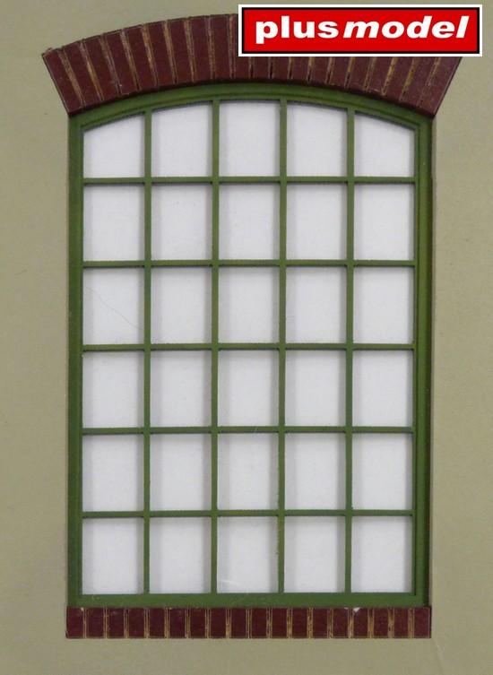 Dílenské okno-kulaté