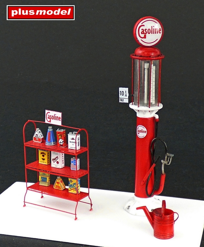 Benzínový stojan