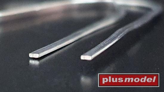 Olověné drátky ploché 0,2 x 1,5 mm