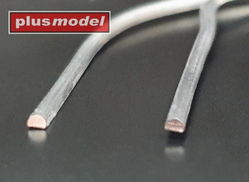 Olověné drátky půlkulaté 0,6 mm