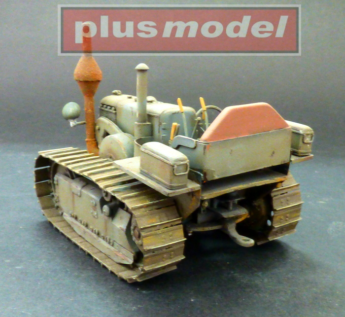 Lanz Bulldog 35 HP, pásový traktor-3