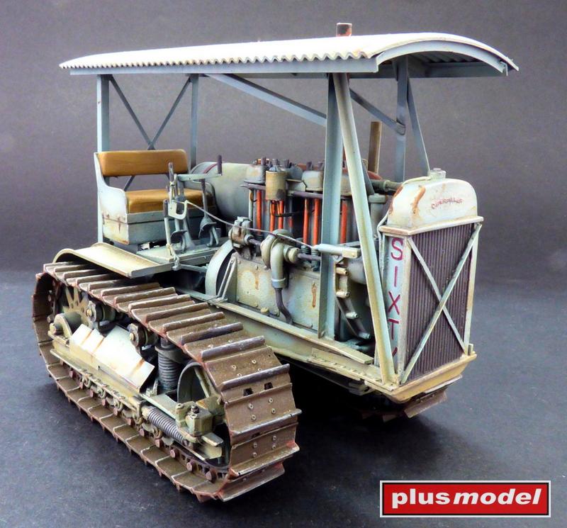 Military Medium Tractor M-1 (Caterpillar D6)-2