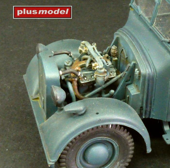 Horch Kfz 15 - motorový set-1