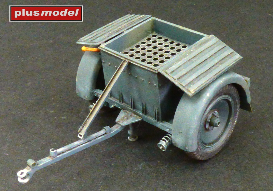 Muniční vozík Sd.Anh.32 pro Sd.Kfz 252-1