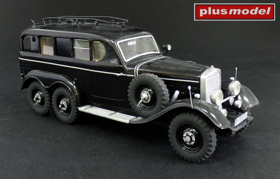 Mercedes G4 radiovůz-1