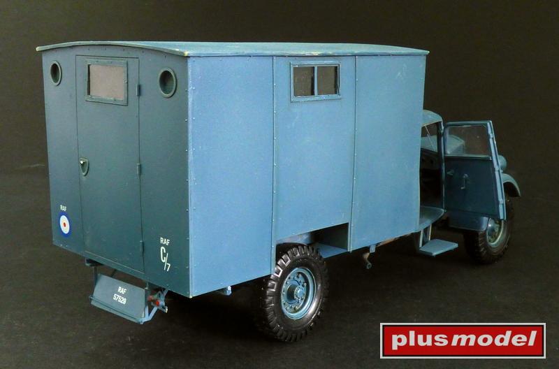 Fordson WOT 3 dílna RAF-2