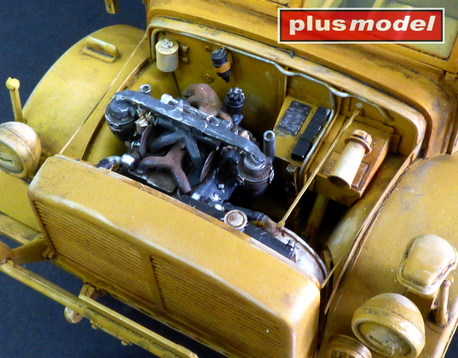Horch 1a - motorový set-1