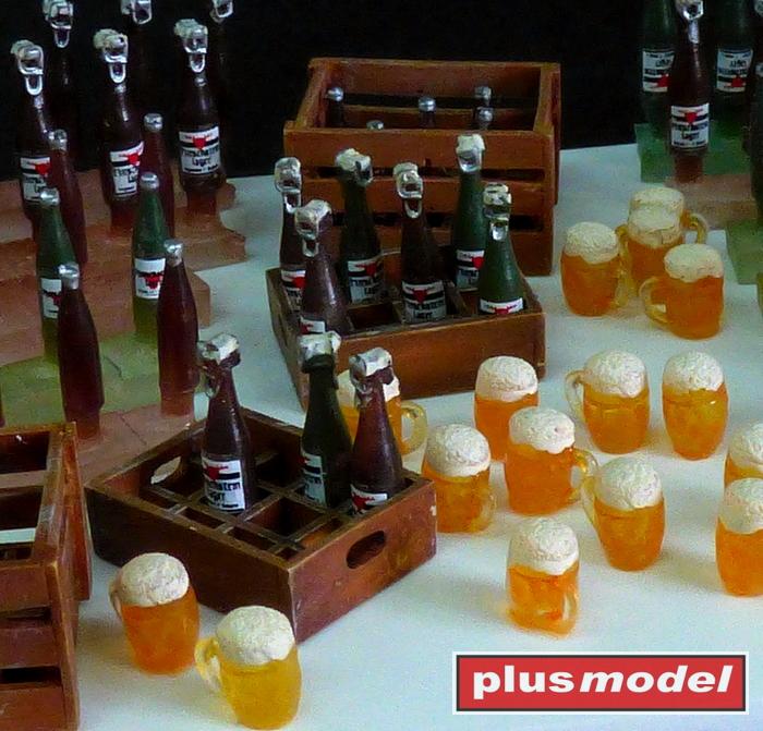 Pivní lahve a bedny-1