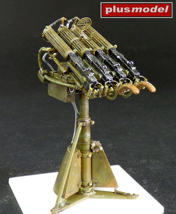 Kulomet Maxim - čtyřče -1