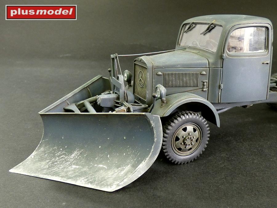 Německý sněhový pluh typ K-2
