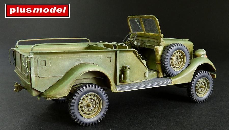 GAZ 61- 417 Gun tractor-1