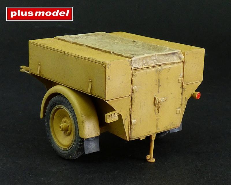 Německý vozík Sd.AH.54-1