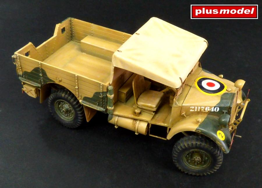 Britský lehký nákladní vůz WOT 2-2