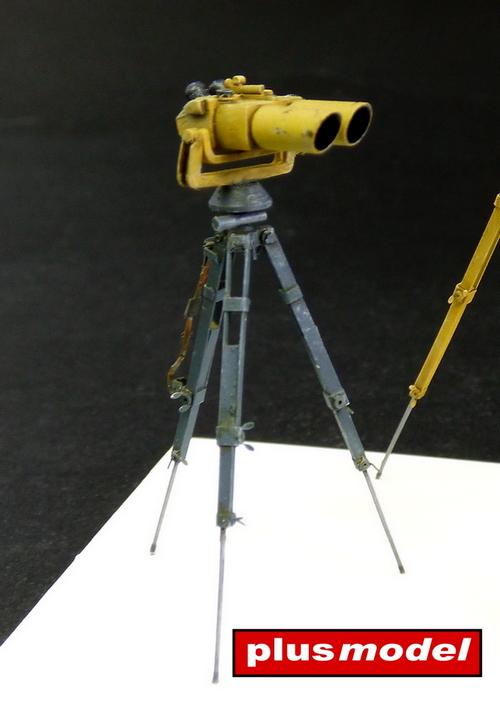 Německé dalekohledy a dálkoměr -1