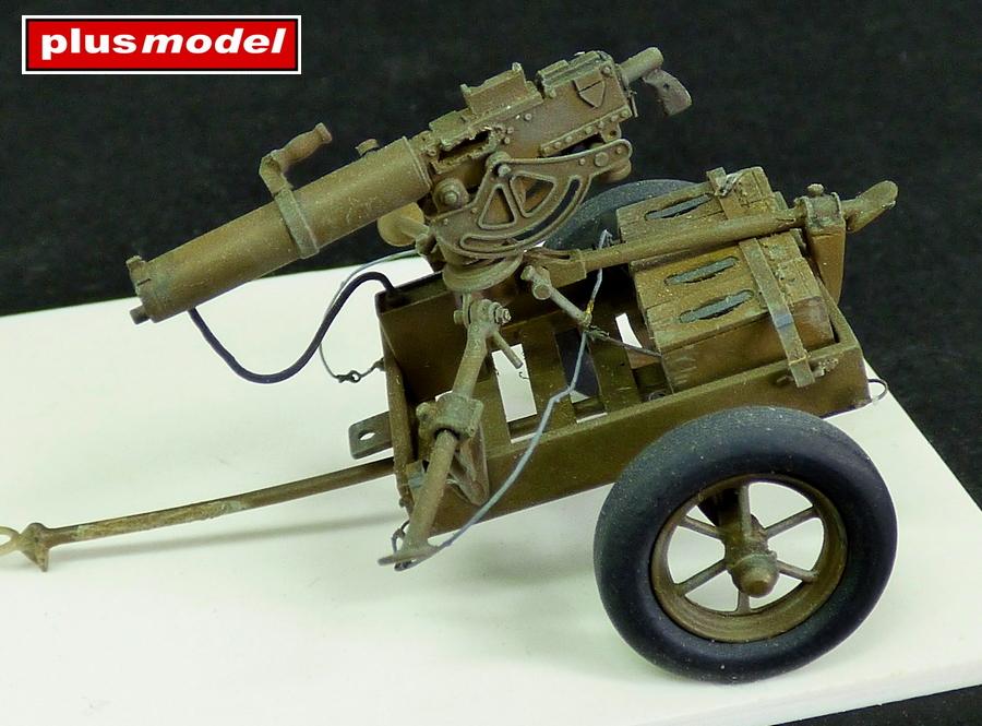 U.S. vozík M3A1 s kulometem Browning 0,3-1