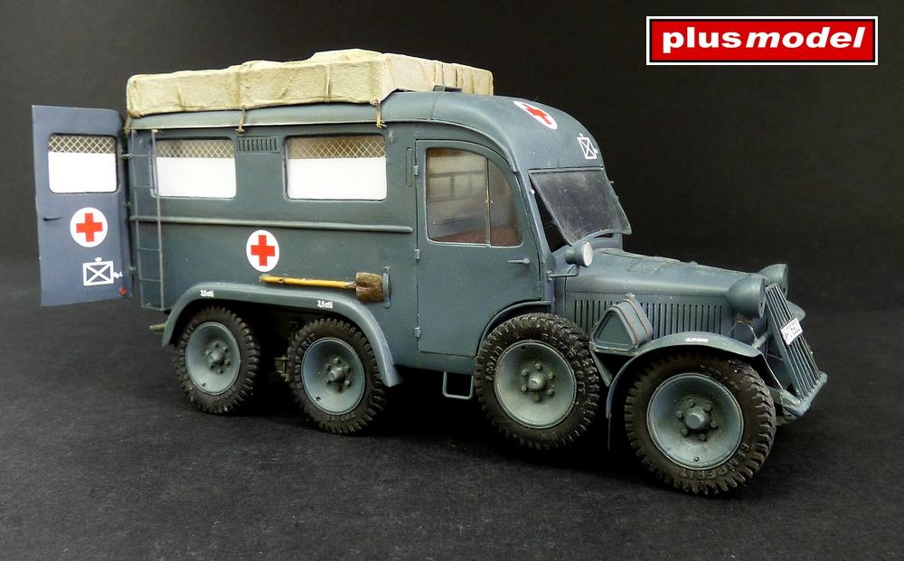 Německá ambulance Kfz. 31-1
