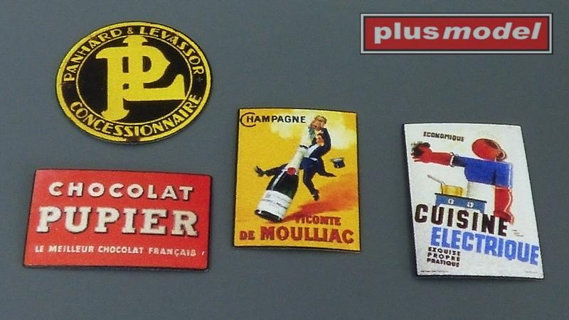 Plechové reklamní cedule Francie 30 a 40leta-2