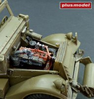 M3 Scout Car - engine set