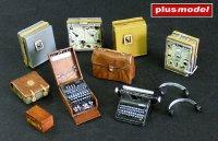 German radio set with Enigma