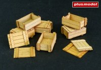 Wooden boxes I