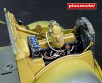 Engine-compartment detail set Opel Blitz - Tamiya
