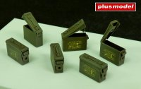 U.S. ammunition boxes cal. 7,62