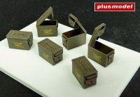 U.S. ammunition boxes cal. 5,56