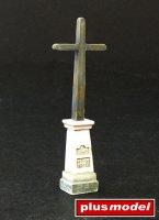 Cross on pedestal