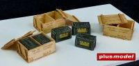 US ammunition boxes - Vietnam