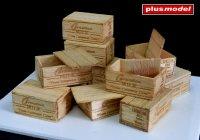 U.S.Dřevěné bedny na kondenzované mléko