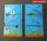 Workshop doors