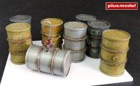 German fuel barrels