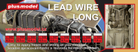 Lead wire 0,8 mm long