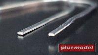 Olověné drátky ploché 0,4 x 1 mm